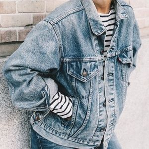 Levi's Vintage Acid Wash Denim Trucker Jacket